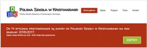 Polska Szkoła w Kristiansand